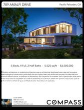 Printable PDF flyer of Palisades Modern. Photos & Short Description