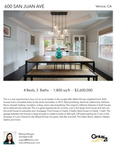 Printable PDF flyer of 600 San Juan Ave. Main Photo & Short Description