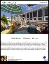 Printable PDF flyer of 7264 San Luis St. Main Photo & Short Description