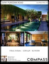 Printable PDF flyer of Los Altos Modern. Photos & Basic Info