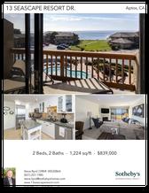 Printable PDF flyer of 13 Seascape Resort Dr.. Photos & Basic Info