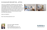Printable PDF flyer of 55 Seascape Resort Dr.. Basic Postcard