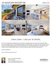 Printable PDF flyer of 55 Seascape Resort Dr.. 4 Photos & Short Description