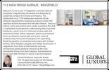 Printable PDF flyer of 112 High Ridge Avenue. Basic Postcard