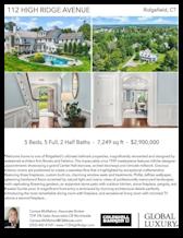 Printable PDF flyer of 112 High Ridge Avenue. 4 Photos & Short Description