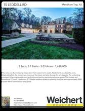 Printable PDF flyer of 15 Leddell Rd. Main Photo & Short Description