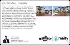 Printable PDF flyer of 157 Lees Road. Basic Postcard