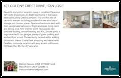 Printable PDF flyer of 407 Colony Crest Drive. Basic Postcard
