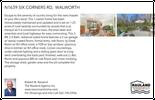 Printable PDF flyer of N1639 Six Corners Road. Basic Postcard