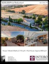 Printable PDF flyer of 5365 Sierra Rd. Photos & Basic Info