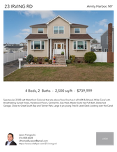 Printable PDF flyer of 23 Irving Rd. Photos & Short Description