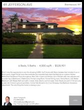 Printable PDF flyer of 49 Jefferson Ave. Main Photo & Short Description
