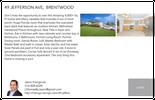 Printable PDF flyer of 49 Jefferson Ave. Basic Postcard