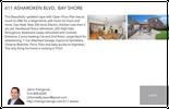 Printable PDF flyer of 611 Asharoken Blvd. Basic Postcard
