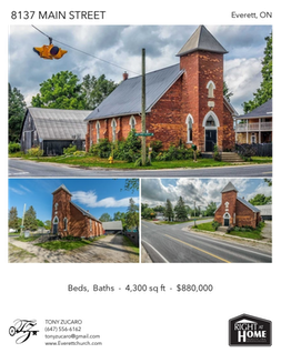 Printable PDF flyer of 8137 Main Street. Photos & Basic Info