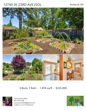 Printable PDF flyer of 12740 SE 23RD AVE (SOLD). Photos & Basic Info