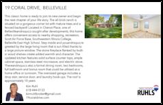 Printable PDF flyer of 19 Coral Drive. Basic Postcard