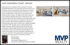Printable PDF flyer of 3645 Santaren Court. Basic Postcard