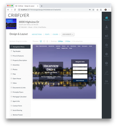 CribFlyer design theme builder