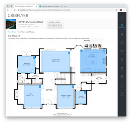 Interactive floor plan viewer